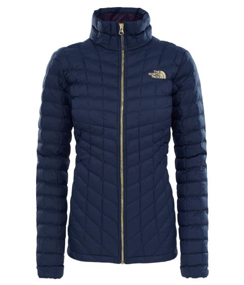 The North Face Womens Thermoball Full Zip Synthetic Jacket - Urban Navy